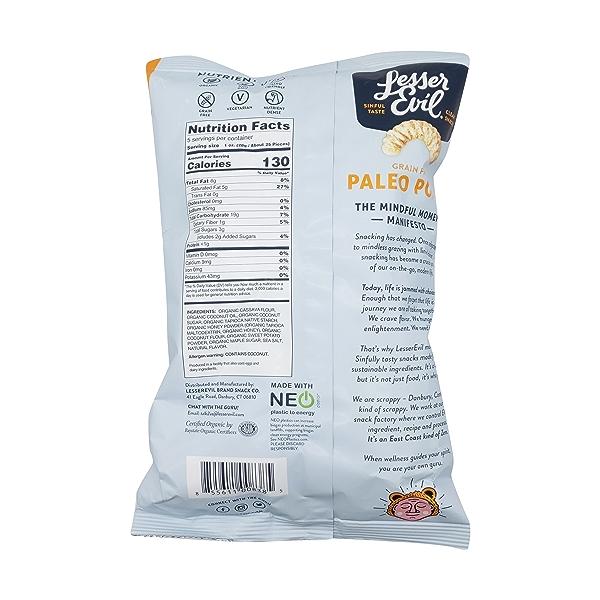 Honey Roasted Paleo Puffs, 5 oz 2
