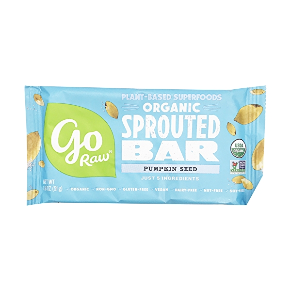 Sprouted Pumpkin Seed Bar (Large), 1 each 1