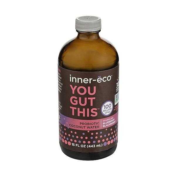 Berry Flavor Fresh Coconut Water Probiotic, 15 fl oz 1