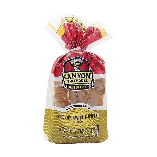 Gluten Free Mountain White Bread, 18 oz 1