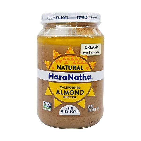 Creamy Almond Butter, 16 oz 1