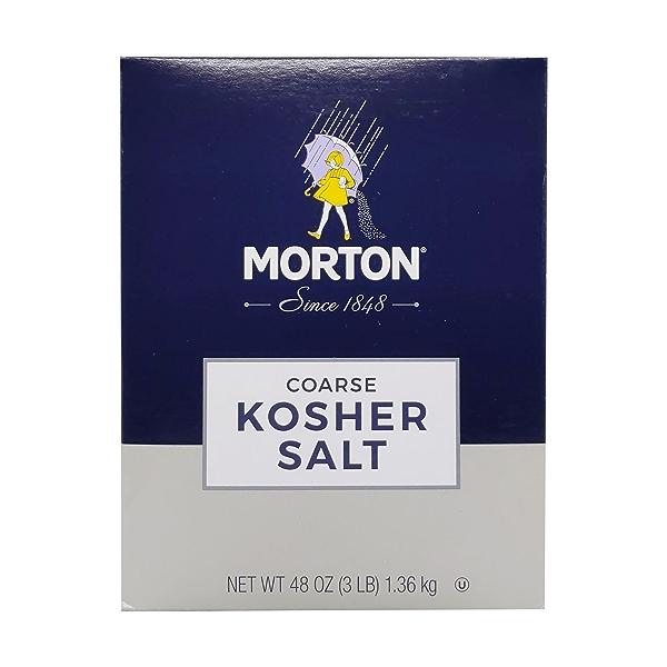 Morton Coarse Kosher Salt, 48 oz 1