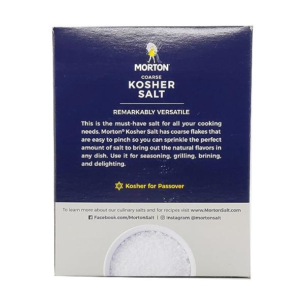 Morton Coarse Kosher Salt, 48 oz 3