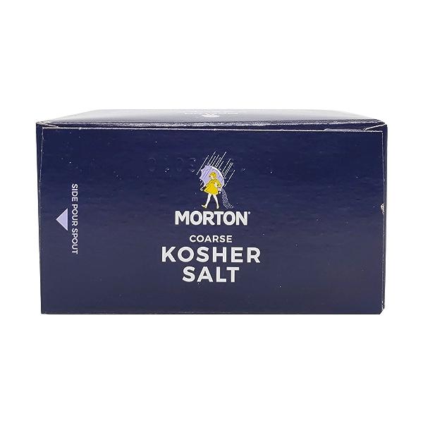 Morton Coarse Kosher Salt, 48 oz 5