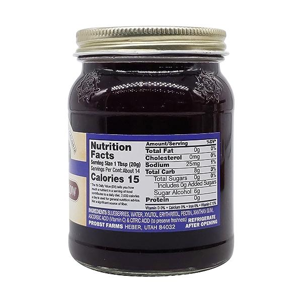 Sugar Free Blueberry Preserves, 10 oz 2
