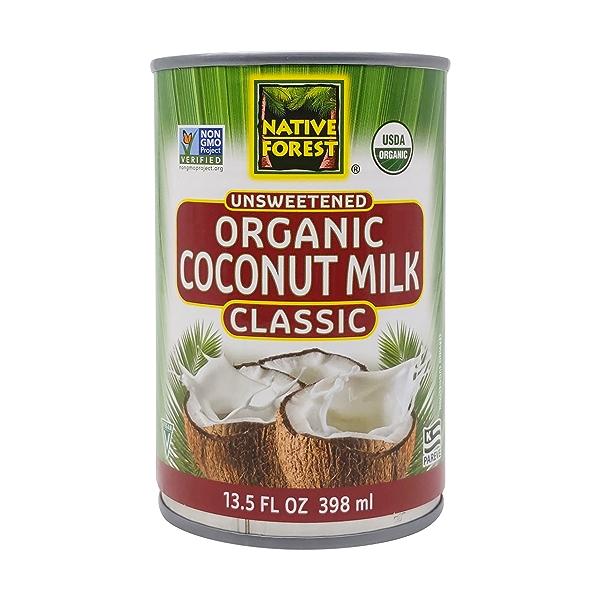Unsweetened Classic Organic Coconut Milk, 13.5 fl oz 1