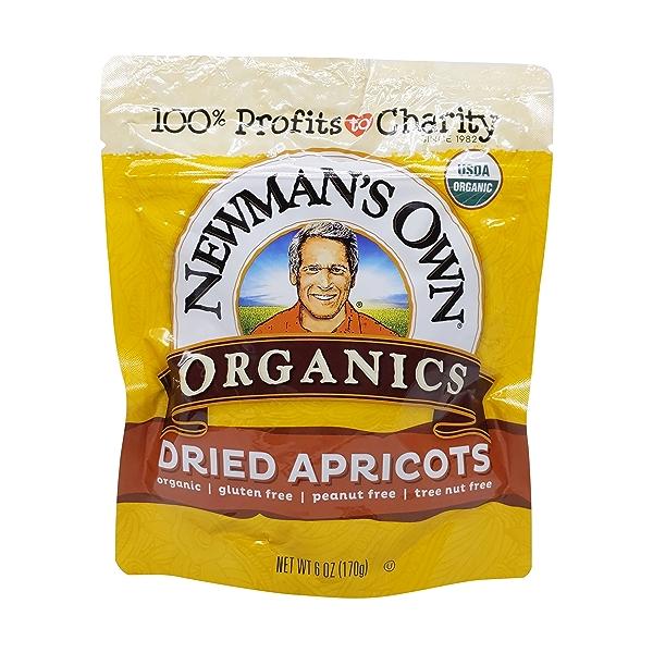 Organic Apricots, 6 oz 1