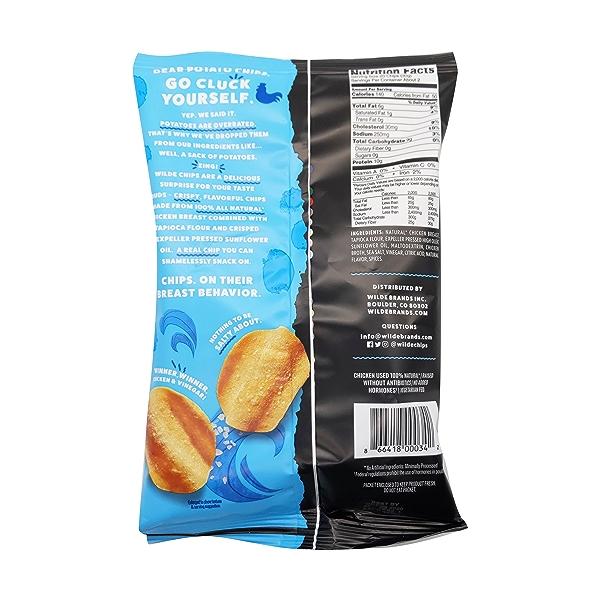 Sea Salt Vinegar Chicken Chips, 2.25 oz 2