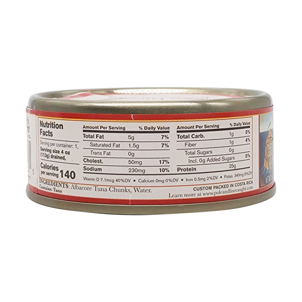 Albacore Tuna - No Salt Added 2