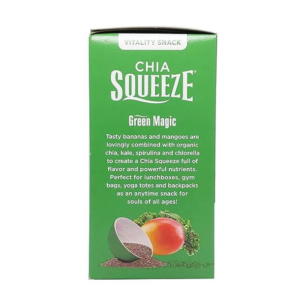 Green Magic Chia Squeeze Vitality Snacks (4 Pk), 14 oz 4