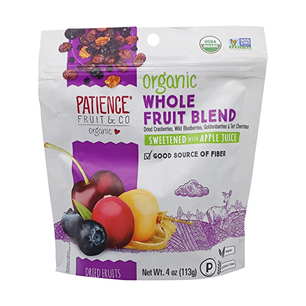 Organic Gently Dried Mixed Sweetened Berries, 4 oz 1