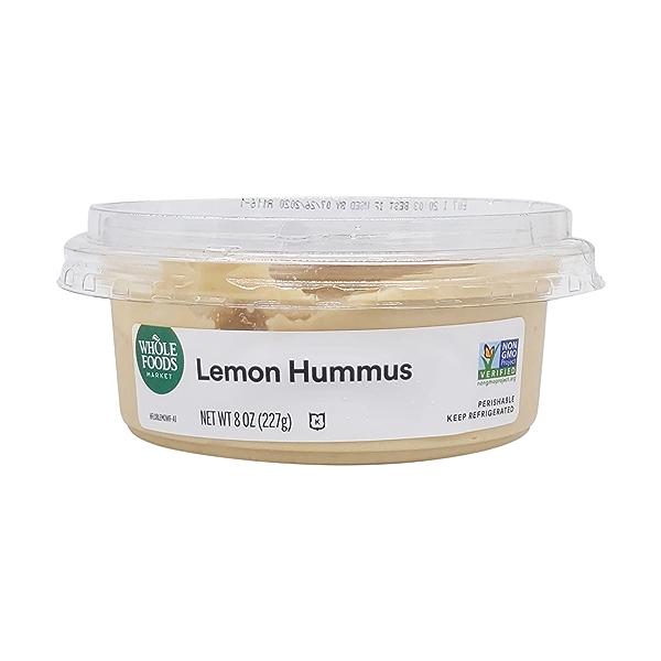 Lemon Hummus, 8 oz 2