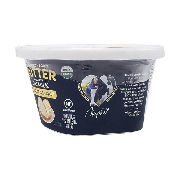 Organic Oat Milk Butter, 12 oz 5