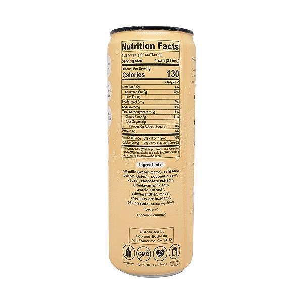 Mocha Oat Milk Latte, 10.5 fl oz 2