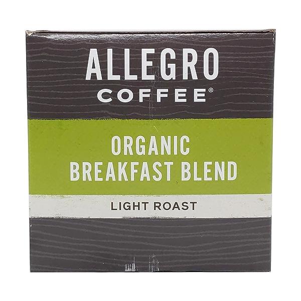 Organic Breakfast Blend Coffee Capsules, 3.8 oz 5
