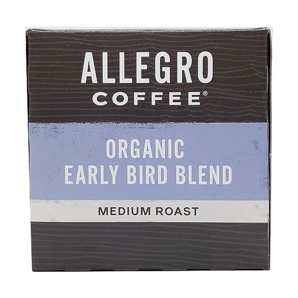 Organic Early Bird Blend Pods, 3.8 oz 5
