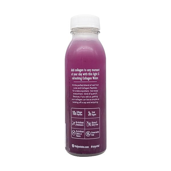 Blackberry Hibiscus Collagen Water, 12 fl oz 3
