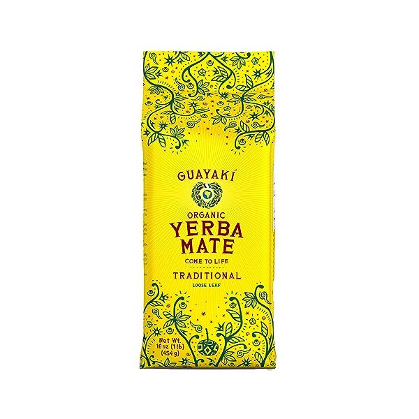 Organic Traditional Loose Leaf Yerba Mate, 16 oz 1