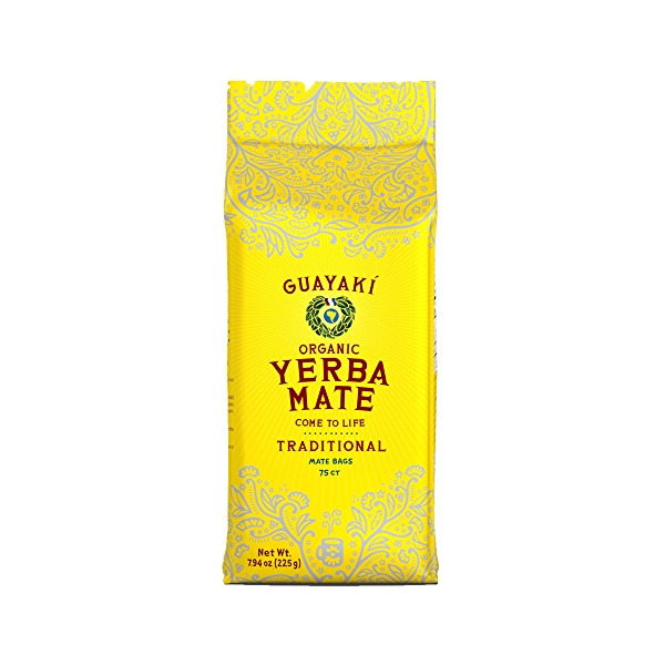 Organic Traditional Yerba Mate Bags, 7.9 oz 1