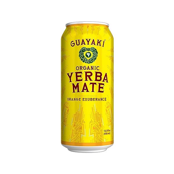 Organic Orange Exuberance Yerba Mate, 15.5 fl oz 1