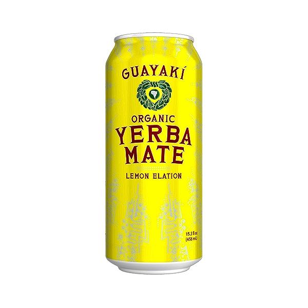 Lemon Elation Yerba Mate, 15.5 fl oz 1
