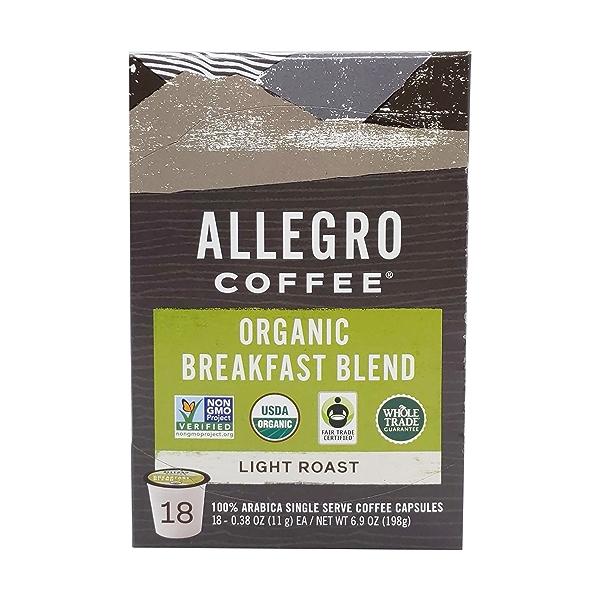 Organic Breakfast Blend Pods, 6.9 oz 2