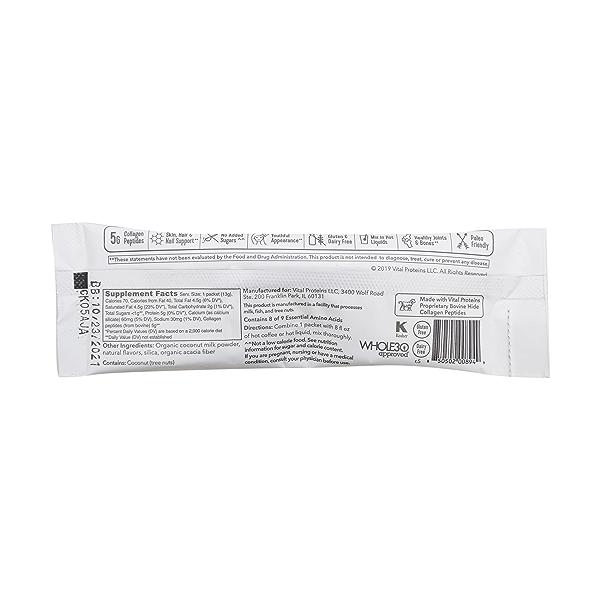 Vanilla Collagen Creamer Packet, 0.46 oz 2