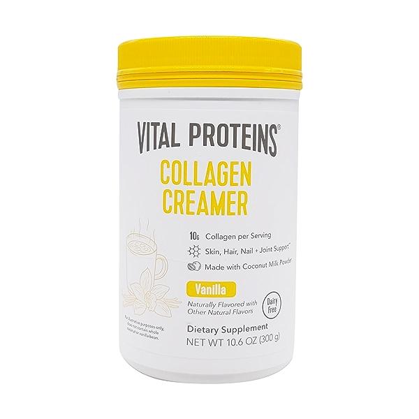 Vanilla Collagen Creamer, 10.6 oz 1