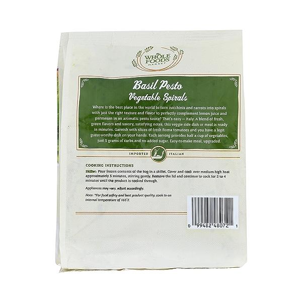 Basil Pesto Vegetable Spiral, 10 oz 4