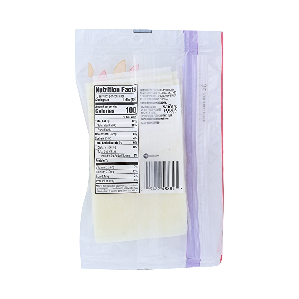 Cheddar Style Goat Cheese Slices, 8 oz 4