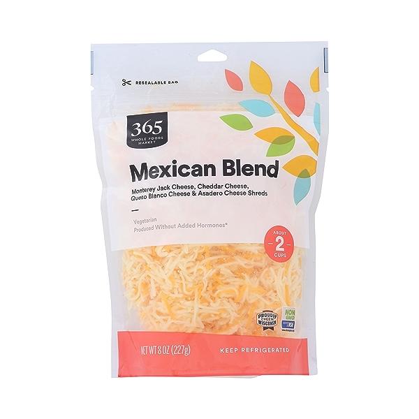 Shredded Mexican Blend, 8 oz 1