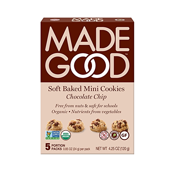 Soft Baked Mini Chocolate Chip Cookies 5pk, 4.25 oz 1