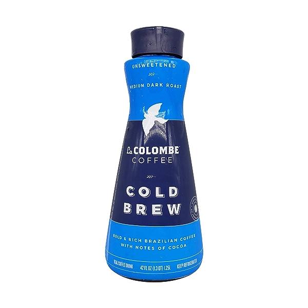 Unsweetened Brazilian Cold Brew Coffee, 42 fl oz 1