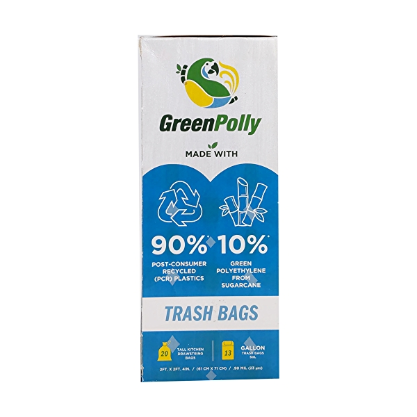 Blue Trash Bags 20 Count 2