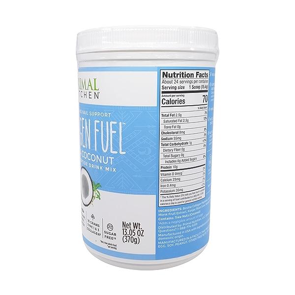 Vanilla Coconut Collagen Fuel, 13.05 oz 5