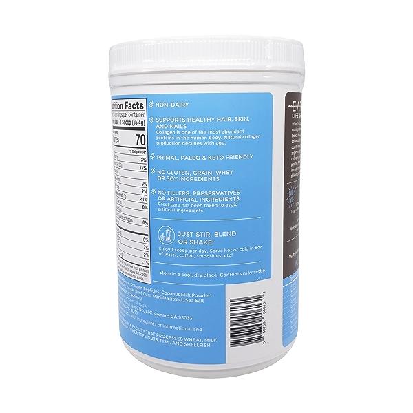 Vanilla Coconut Collagen Fuel, 13.05 oz 3