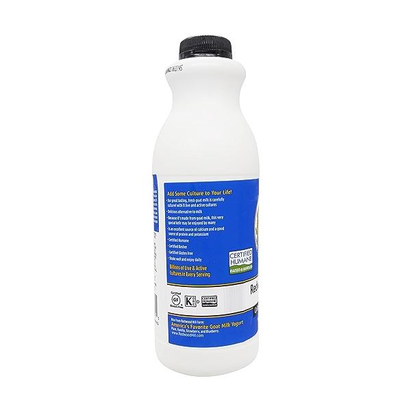 Traditional Plain Goat Milk Kefir, 32 fl oz 2