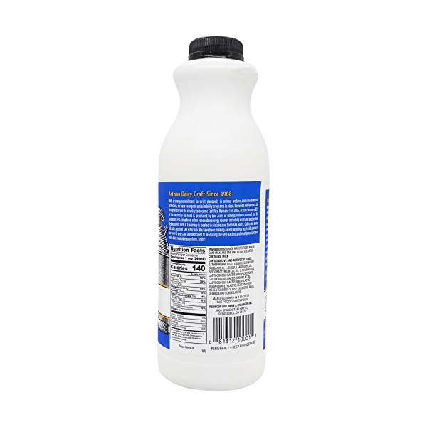 Traditional Plain Goat Milk Kefir, 32 fl oz 3