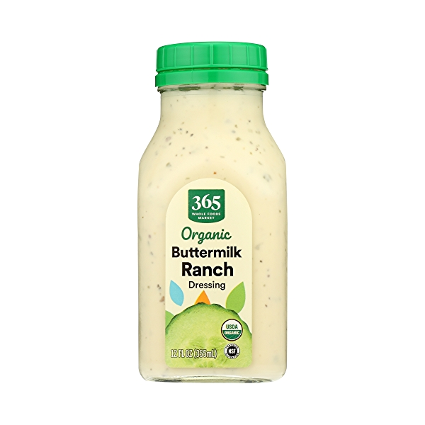 Organic Buttermilk Ranch Dressing, 12 fl oz 1