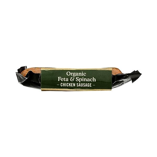 Organic Feta & Spinach Chicken Sausage 3