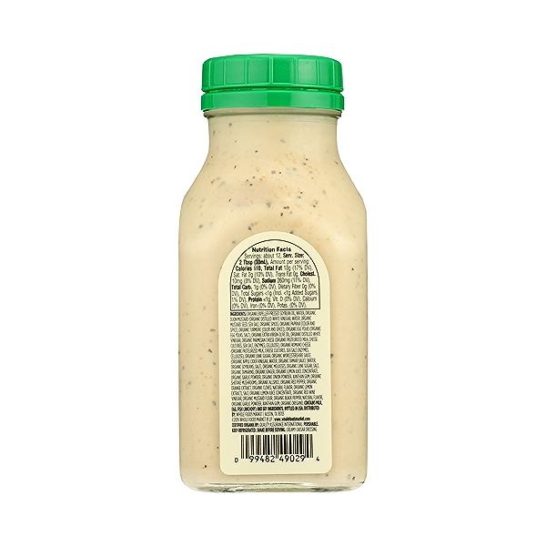 Organic Creamy Caesar Dressing, 12 fl oz 3