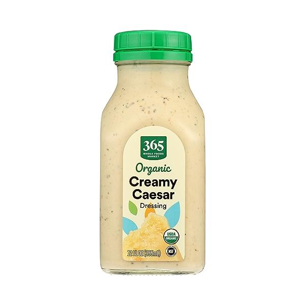 Organic Creamy Caesar Dressing, 12 fl oz 1