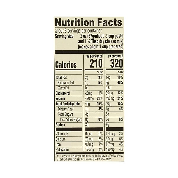 Organic Macaroni And Cheese, 6 oz 7