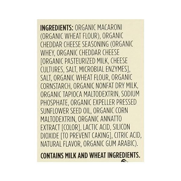 Organic Macaroni And Cheese, 6 oz 8