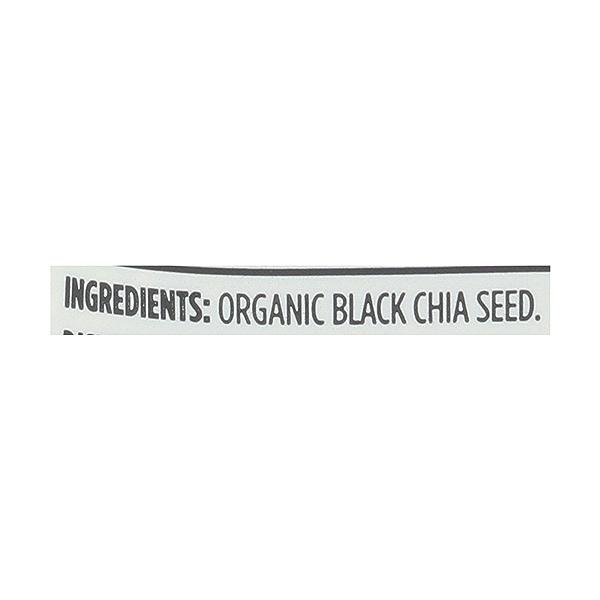 Organic Black Chia Seed, 2 lb 5