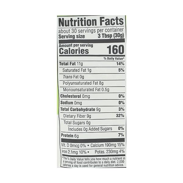 Organic Black Chia Seed, 2 lb 4