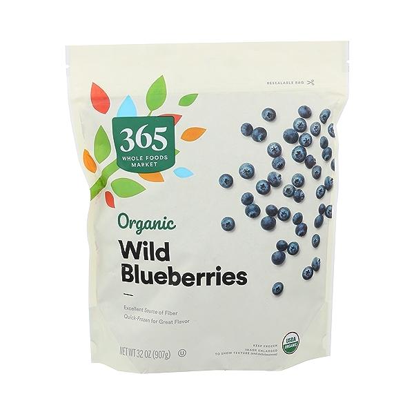 Organic Wild Blueberries, 32 ounce 1