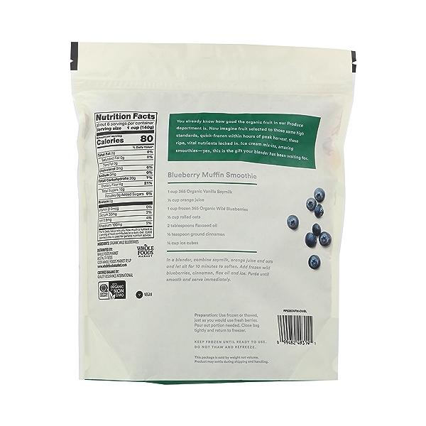 Organic Wild Blueberries, 32 ounce 2