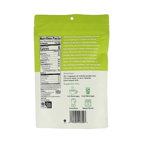Organic Matcha Powder, 5 oz 3