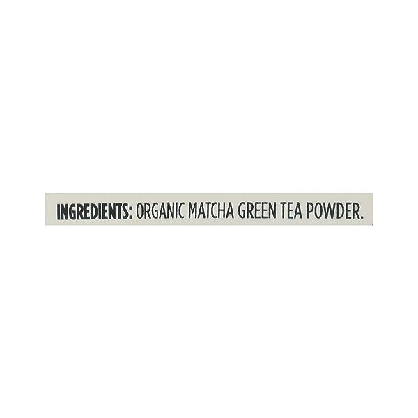 Organic Matcha Powder, 5 oz 6